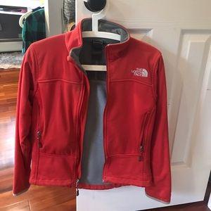 Red Northface Jacket